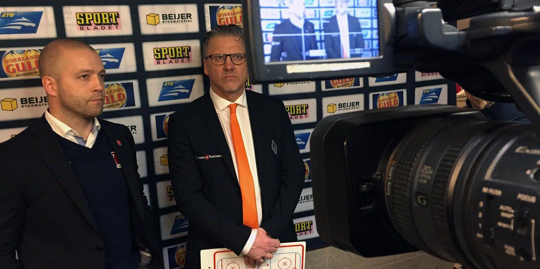 Reportage - KHK SHL Presskonferens